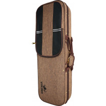 Viking VVC-036 Oblong Violin Foam Case, Brown
