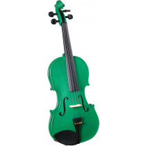 Cremona SV-75 3/4 Size Violin Outfit, Green