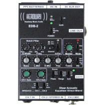 Headway EDB-2 H.E EQ box for Guitar etc