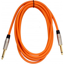 Viking VGL-2023-OR Orange Guitar Lead 3m SS