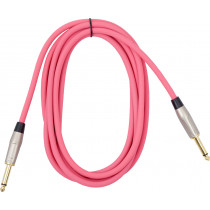Viking VGL-2023-PK Pink Guitar Lead 3m SS