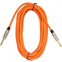 Viking VGL-2026-OR Orange Guitar Lead 6m SS