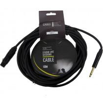 Leem XLR-Jack Cable 7m