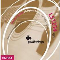 Galli LS1254 Guitar Set, Light, Phos Bronze
