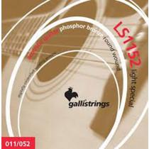 Galli LS1152 Guitar Set, Custom Light, Phos/B