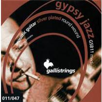 Galli GSB11 Gypsy Jazz Set. Med. Ballend