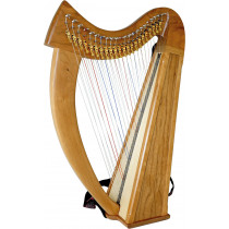 Stoney End Brittany Double Strung Harp, Truitt
