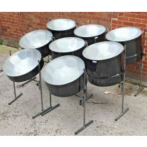 8pc Set of Panland Steel Pans (Collection Only)