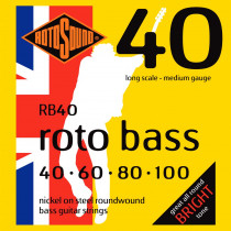 Rotosound RB40 Roto Bass Strings, Hybrid