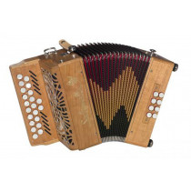 Saltarelle Selkie D/G Melodeon. 2 Voice