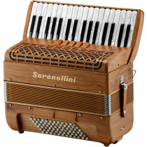 Serenellini 343MW 72 Bass Accordion, Cherry