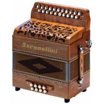 Serenellini Selli B/C Melodeon, 2 voice
