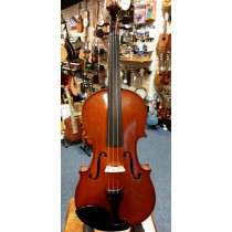 French Violin circa 1910, labelled Nicholas Bertholini, nicely flamed maple, good condition, fine tone