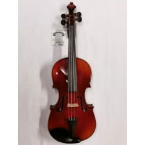 French Violin 1921 by and labelled Emile Blondelet, beautiful red shaded varnish, stamped with original makers