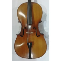 JTL 4/4 French Cello circa 1890 in good condition, labelled Giovani Grancino