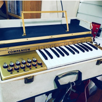 Orcoa Companion Electronic Retro Keyboard Organ, Made in Italy 1950's, excellent working condition, 12 chords