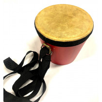 Single Bongo Drum Comes with Beater, Strap and Bag