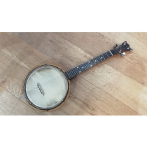 Ozark short scale Tenor banjo, resonator, aluminium rim, good cond
