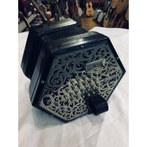 Lachenal 48 Key English Concertina, ME MB Serial 57538