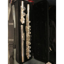 Valentino Student Flute with carry case, cloth and gloves
