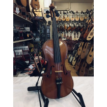Stentor 3/4 Concerto violin labeled Dave Mann Music, Mansfield 1993. No case or bow.