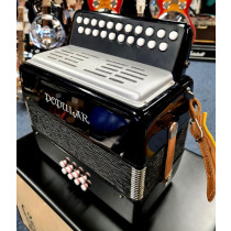 Delicia D/G 2 Row Melodeon made in the Czech Republic in nice condition complete with hard case