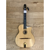 Peter Davies Hand Made Selmer style Jazz guitar. 14 fret oval hole solid top