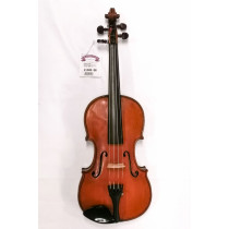 French 4/4 Violin, early 1900's Guaneri copy. Well flamed two piece back and rib