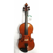 French 4/4 violin circa early 1900's Collin-mezin school amber/brown varnish medium flame in excellent condit