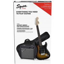 Squier Affinity Stratocaster HSS Pack. Brown