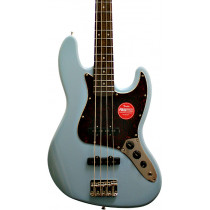 Squier Classic Vibe 60s Jazz Bass Guitar, Daphne Blue