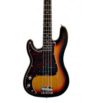 Sx Electric Guitars 8695 Electric Bass PB S/B. Lefty