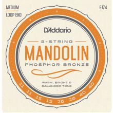 D\'Addario EJ74 Mandolin medium Strings