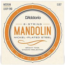 D'Addario EJ67 Mandolin Medium Strings set