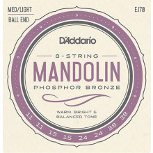 D'Addario EJ70 Mandolin Strings, ball