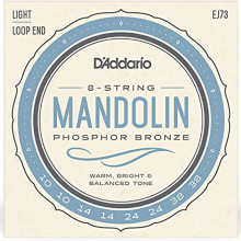 D'Addario EJ72 Phos Bronze Mandola Strings, L
