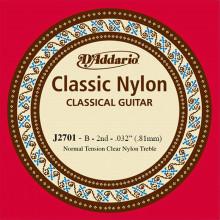 D\'Addario EJ27 Single B Nylon String