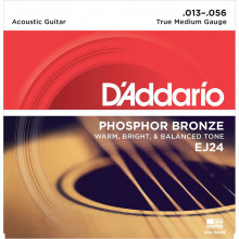 D\'Addario EJ24 TrueMedium Guitar Strings