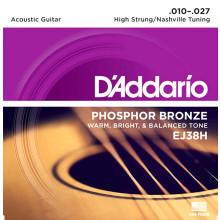 D\'Addario EJ38H High Strung/Nashville