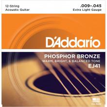 D\'Addario EJ41 12-String Guitar Strings