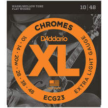 D\'Addario ECG23 Chromes Guitar Strings. Ex.L