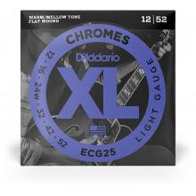 D'Addario ECG25 Chromes Guitar Strings. Light