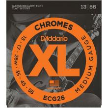 D'Addario ECG26 Chromes Guitar Strings. Med