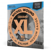 D\'Addario EXL115W Nickel Wound Electric Strings
