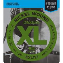 D'Addario EXL117 Nickel Electric Guitar Strings