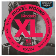 D'Addario EXL157 Baritone Guitar String Set