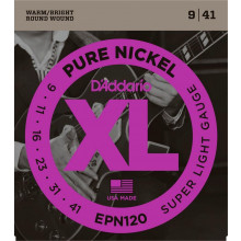 D\'Addario EPN120 Pure Nickel, Super Light