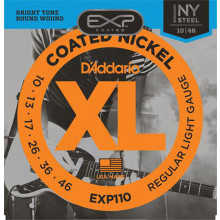 D\'Addario EXP110 Coated Electric Guitar String