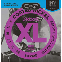 D\'Addario EXP120 Coated Electric Guitar String