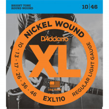 D\'Addario XTE0946 Electric Nickel Plated, SLRB